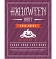 design halloween poster collection stock vector image