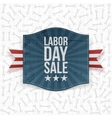 Labor Day Sale greeting paper Label vector image vector image