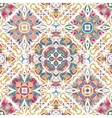 Luxury oriental tile seamless pattern vector image vector image