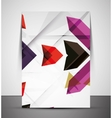 Multipurpose CMYK geometric print template