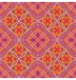 Vintage tribal ethnic backdrop seamless texture vector image vector image