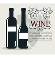 wine shop template isolated icon design vector image