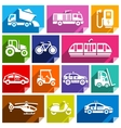 Transport flat icon bright color-04 vector image