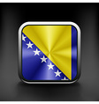 Bosnia and Herzegovina icon flag national travel vector image