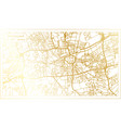 dortmund germany city map in retro style in vector image vector image