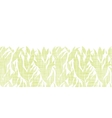 Green leaves textile texture horizontal seamless vector image vector image