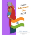 india independence day poster vector image
