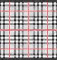 pattern scottish tartan vector image