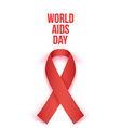 World AIDS Day 1 december 2014 vector image