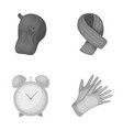 zoo training and other monochrome icon in cartoon vector image vector image