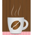 Black Coffee Background Photo-Realistic vector image vector image