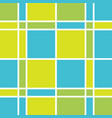 blue and green checkered background vector image