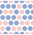 Dots pattern pink and blue dot vector image vector image