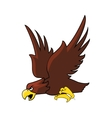 eagle cartoon icon vector image vector image