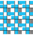plaid seamless pattern vector image vector image
