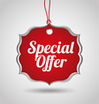 special offer design vector image vector image