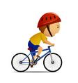 bicyclist vector image vector image