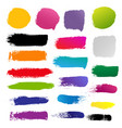 blots for design vector image vector image