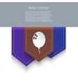 bookmark icon Eps10 vector image vector image