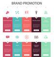 brand promotion infographic 10 option ui design