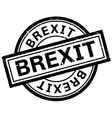 Brexit rubber stamp vector image