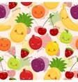 Bright background of fruit vegetarian food vector image vector image