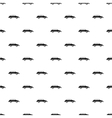 Car pattern simple style vector image