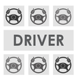 driver car design vector image