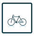 Ecological bike icon vector image vector image
