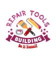 Repair work tools sign vector image vector image