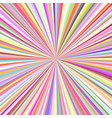 abstract ray burst background vector image vector image