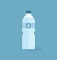bottle water vector image