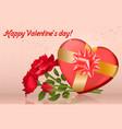 box roses vector image