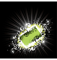 bright composition vector image vector image