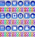 Buy Wallet Mobile phone Five Socket Negative films vector image vector image