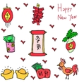 element Chinese celebration vector image vector image