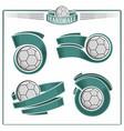 handball balls vector image vector image