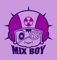 mix boy vector image vector image