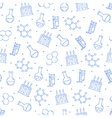 Science pattern blue icons