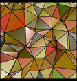 abstract stained glass in autumn fall colors vector image vector image