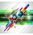 alternative discoteque vector image vector image
