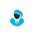 businesswoman icon colored symbol premium quality vector image