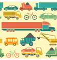Car service and some types of transportation vector image vector image