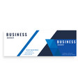 dark blue design abstract business banner i vector image vector image