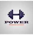 Fitness center vector image