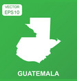 guatemala map icon business concept guatemala vector image vector image