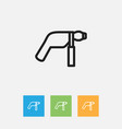 of tools symbol on electric vector image vector image