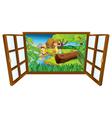open barn windown