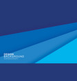 paper layer blue abstract background use vector image vector image