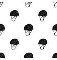 plastic helmet climbermountaineering single icon vector image vector image